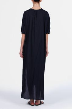 Christophe Lemaire — Maxi Shirt Dress — THE LINE