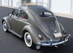 1957 VW Beetle Oval Window