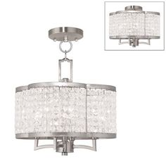 Livex Lighting 50574 91 Grammercy Convertible Fixture Home Decor Deals Finish