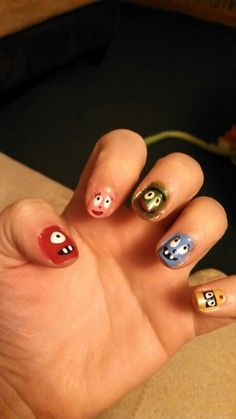 Yo gabba gabba nails!