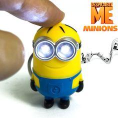 Minions Led Keychain