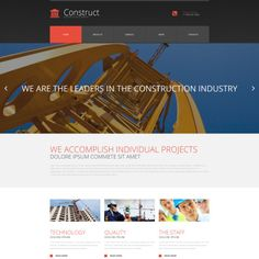 Moto CMS 3 Template for Architecture Website