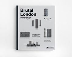 A tactile exploration into London's post war Brutalist architecture manifests within Zupagrafika's Brutal London, a collection of illustrated paper cut-out models representing the various Brutalist buildings scattered around the districts… Council Estate, Brutalist Buildings, Concrete Structure, Architectural Section, Norman Foster, Graphic Design Print, London City, One Design, Holiday Gift Guide