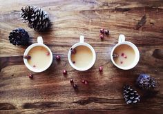 Clean and organic hot apple cider !!