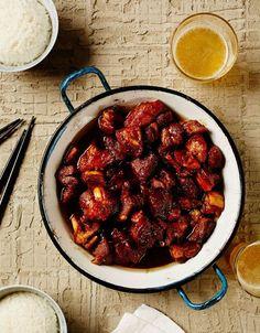 Kiinalainen karamellipossu eli hong chao rou | Soppa365