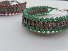 Check out this item in my Etsy shop https://www.etsy.com/listing/263507844/chic-bracelet-every-color-is-made-of