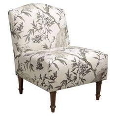 Beau tissus de recouvrement de chaise bergère dans la chambre