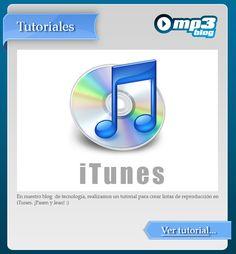 ¿Cómo crear listas de reproducción con iTunes? - En nuestro blog de tecnología publicamos un tutorial sobre cómo administrar listas de reproducción con iTunes. De esta forma, podrán sacar provecho del reproductor de Apple. http://blog.mp3.es/como-crear-listas-de-reproduccion-con-itunes-parte-1/?utm_source=pinterest_medium=socialmedia_campaign=socialmedia