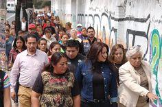 DIONE ANGUIANO COLOCA LA PRIMERA PIEDRA PARA LECHERÍA LICONSA DE LA COLONIA JUAN ESCUTIA