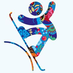 New Winter Olympics 2014 Pictograms - Snowboard Olympic Idea, Olympic Sports, Olympic Gymnastics, Gymnastics Quotes, Winter Olympic Games, Winter Games, Theme Sport, And So It Begins, Winter Art