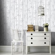 We've got thousands of wallpaper patterns to choose from. Whether you're looking for a bright feature wall, or a classic stripe, we have a wallpaper design for you Grey Removable Wallpaper, Temporary Wallpaper, Grey Wallpaper, Wallpaper Roll, Modern Wallpaper, Bathroom Wallpaper Brown, Brown Bathroom, Bedroom Wallpaper, Brown Walls