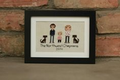 Love how this cute family turned out!