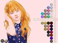 Animate hair 65 Rika kids at Studio K-Creation • Sims 4 Updates