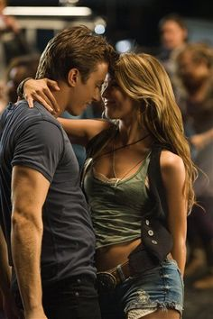 footloose :).. Gotta love a boy who can dance ;) and she's just gorgeous<3