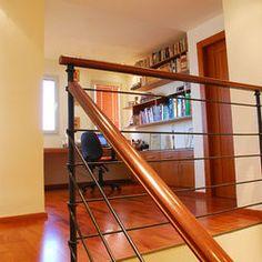 stair idea barandas para escaleras en hierro y madera