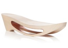 Footspace wooden shoes by Rachel Jui Chi Chang