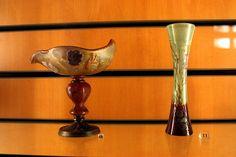 Art Nouveau vases by Emile Gallé   Flickr - Photo Sharing!