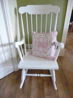 Charmant Shabby Chic Rocking Chair | EBay