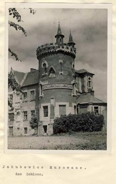 Jakubowice Murowane Forts, Old Pictures, Old World, Prison, Castles, Poland, Cathedral, Romantic, Travel
