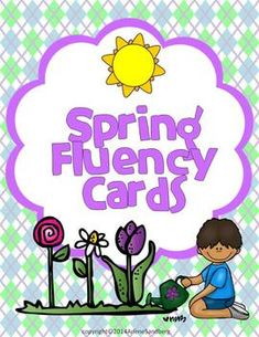 These fluency cards are designed to give your students morepractice with the vocabulary related to the season of spring.They can be used as a literacy center activity. You may also like:Spring Fluency ActivitiesWhat Happens in Spring?Spring Has Sprung with Poems, Plays, and Writing Spring Writing Activities