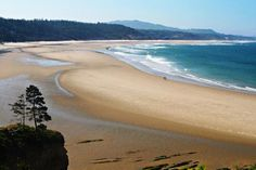 Beverly Beach State Park and Campground, Newport, Oregon Coast