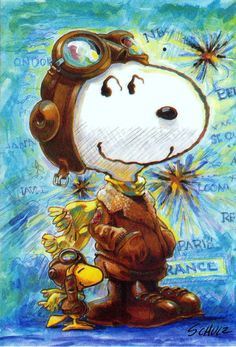 Snoopy cards Hallmark Snoopy cards - Snoopy and Woodstock as The Red Baron. Peanuts by Charles M SchulzHallmark Snoopy cards - Snoopy and Woodstock as The Red Baron. Peanuts by Charles M Schulz Peanuts Cartoon, Peanuts Snoopy, Charlie Brown Und Snoopy, Snoopy Und Woodstock, Charles Shultz, Flying Ace, Snoopy Quotes, Joe Cool, Cartoon Characters