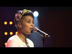 """Imany interprète en live le titre """"Don't Be So Shy"""", issu de la bande-originale du film """"Sous les jupes des filles"""" dans Le Grand Studio RTL. Une émission pr..."""