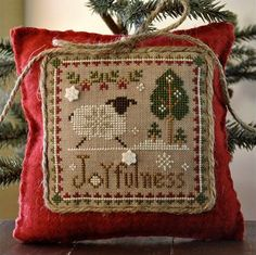 PREORDER Joyfulness cross stitch pattern & by thecottageneedle, $8.80
