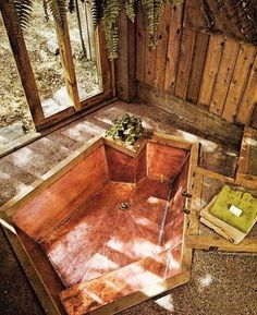 This bath looks inviting  via @electriclovecompany #treehouseclub