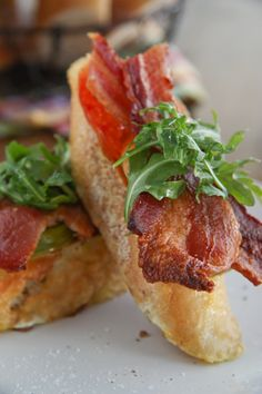 Bacon, Lettuce, & Tomato French Toast