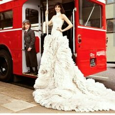 Haute Couture dress_London style