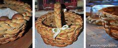 Diétás húsvéti kalács kosár