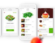 다음 @Behance 프로젝트 확인: \u201cYour Healthy Meals - Food Ordering iOS App\u201d https://www.behance.net/gallery/40370633/Your-Healthy-Meals-Food-Ordering-iOS-App