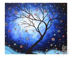 'Blue Cascade' par Megan Aroon Duncanson