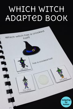 Which Witch Adapted Book for autism classrooms and special education programs.
