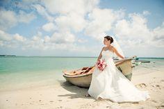 Aruba wedding photo opportunity on a honeymoon shoot or trash the dress.