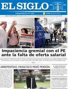 Diario El Siglo - Jueves 21 de Marzo de 20 13