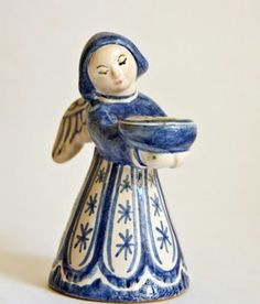 From retro pottery, angel from Danemark