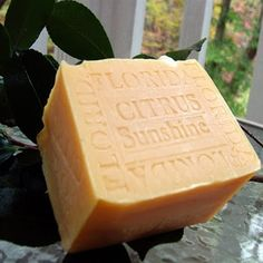 Artisan ( Large Aged Bar Soap ) Handmade Florida - Citrus Sunshine with Mango Butter Soap #Washington, DC