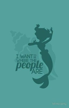 I wanna be, where the people are!