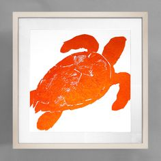 Sea Turtle Print - Clementine - Framed Coastal Art Art, Turtle - Seaside Decor Boutique