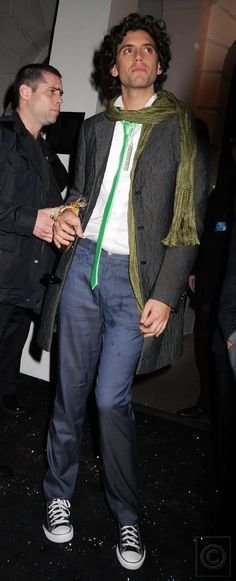 Mika - with a drink spilled on his pants - Afterparty Brit Awards, Hempel Hotel, London 2008