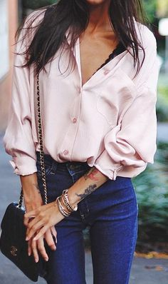 perfect outfit shirt + bag + jeans