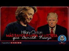 La ASESINA Hillary Clinton: Más sanguinaria y FASCISTA que Donald Trump