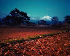 Fields near Kawaguchiko. Yamanashi, Japan, 2000.