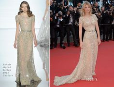Mélanie Laurent In Zuhair Murad Couture – 'Inside Out' Cannes Film FestivalPremiere  Mélanie Laurent attended the 'Inside Out' premiere during the 68th annual Cannes Film Festival on Monday (May 18) in Cannes, France.