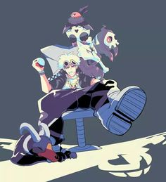 Team Skull Boss Guzma - Where are his bugs tho? Guzma Pokemon, Pokemon People, Pokemon Comics, Pokemon Fan Art, Cute Pokemon, Pikachu, Chapo Guzman, Hot Anime Guys, Pokemon Pictures