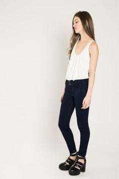 JEANS JEGGING FIT PUSH UP