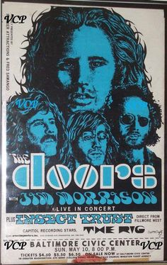 The Doors 5/10/70. Set List: Back Door Man. Five to One. Roadhouse Blues. Heartbreak Hotel (Elvis Presley cover). Carol (Chuck Berry cover). When the Music's Over. Peace Frog. Ship of Fools. Land Ho! I Will Never Be Untrue. Light My Fire. The Crystal Ship. Encore: Summertime (George Gershwin cover). People Get Ready (The Impressions cover). Mystery Train. Away in India Crossroads (Robert Johnson cover) People Get Ready (The Impressions cover)