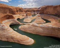 Glen Canyon is a canyon that is located in southeastern and south central Utah and northwestern Arizona within the Vermilion Cliffs area. It was carved by the Colorado River.